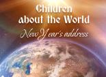 Children about the World. New Year's address